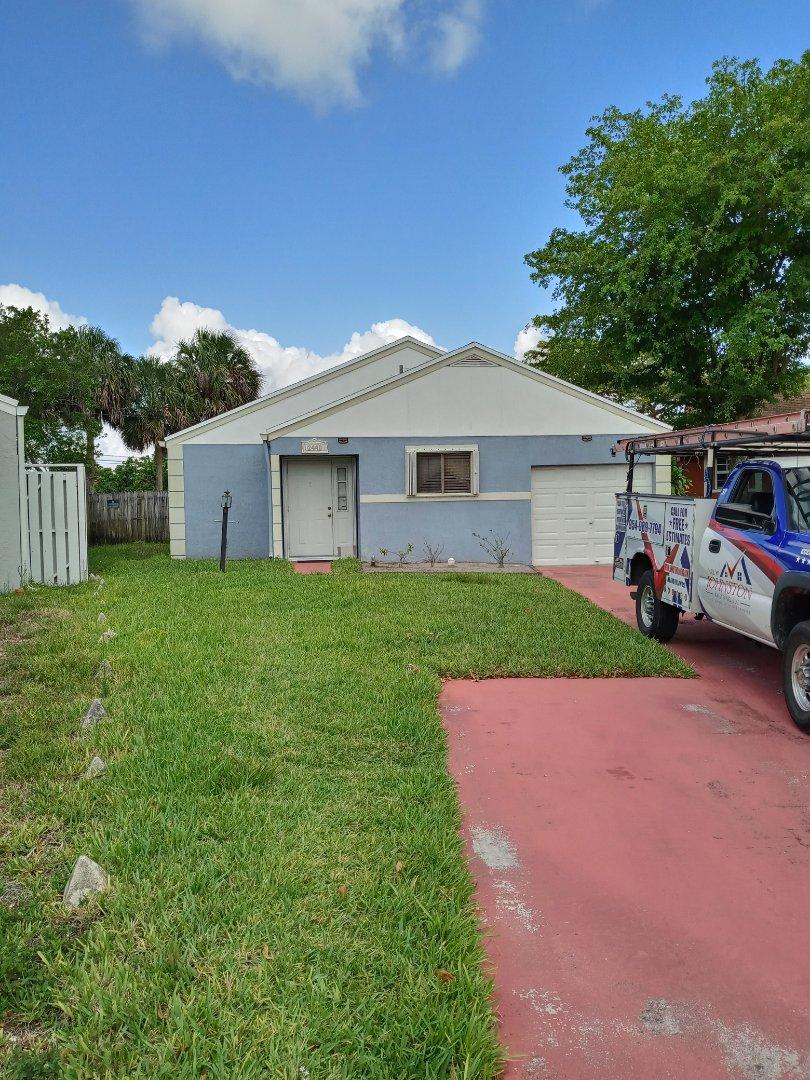 Miramar, FL - Finished gaf timberline shingle roof by earl w Johnston roofing llc