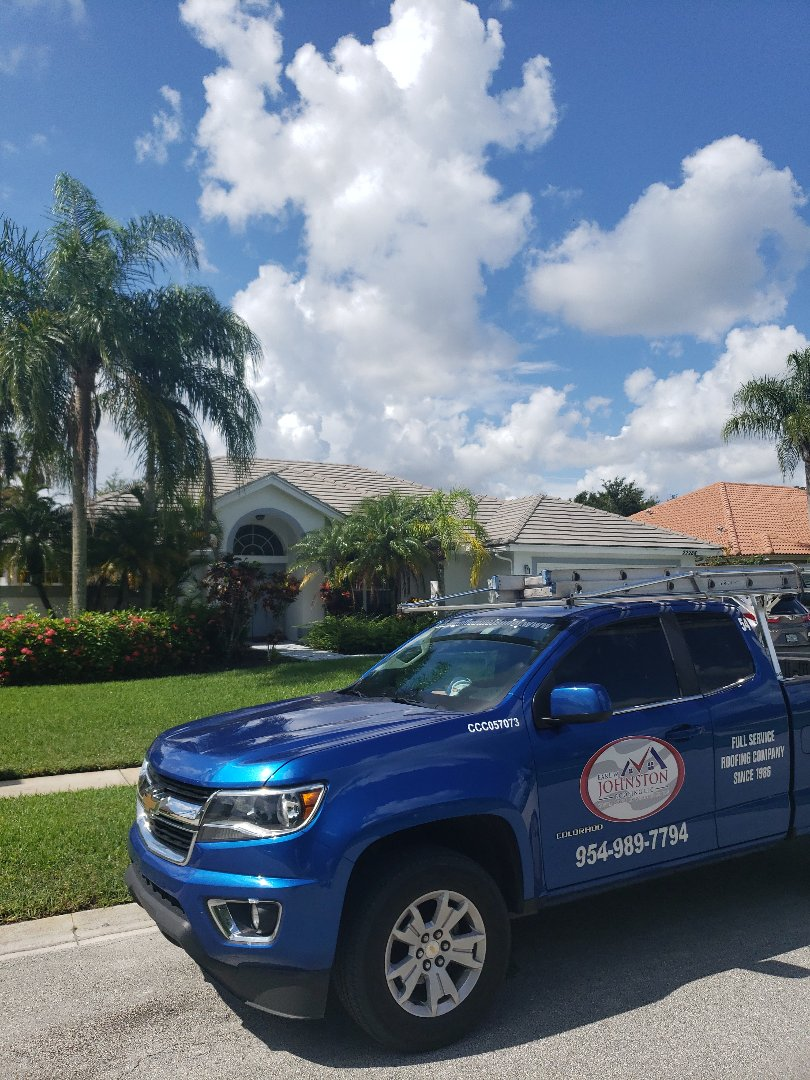 Boral tiles roof replacement estimate by AJ from Earl Johnston Roofing Company