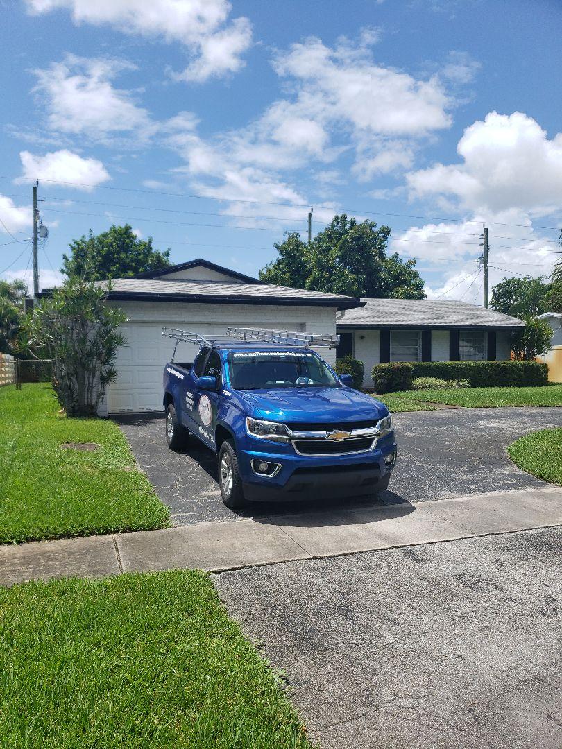 Flat roof leak repair estimate by AJ from Earl Johnston Roofing Company