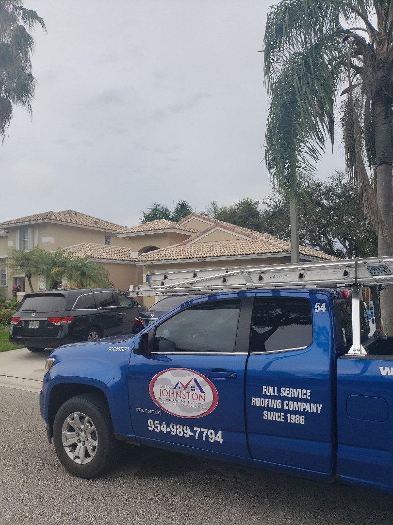 Hollywood, FL - Tile roof repair estimate by AJ from Earl Johnston Roofing Company