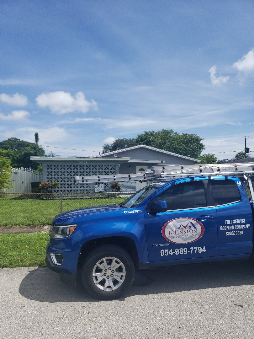 Hollywood, FL - Gaf timberline hdz shingles roof replacement estimate by AJ from Earl Johnston Roofing Company