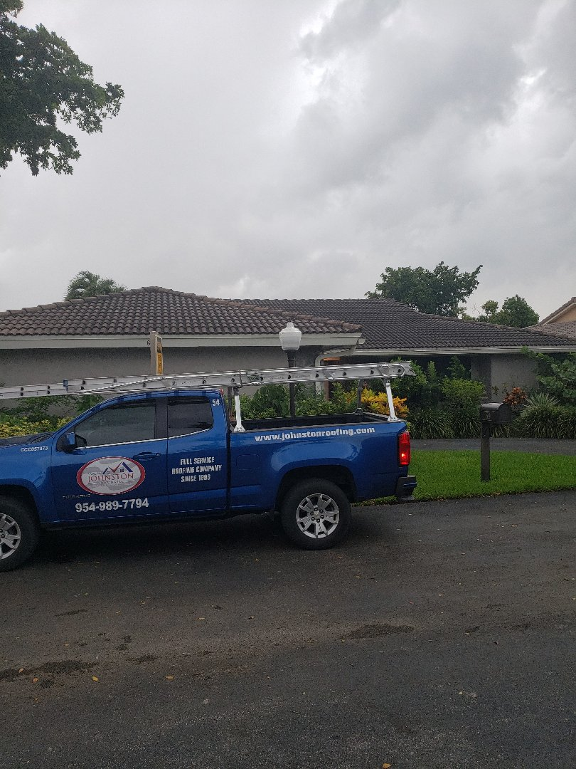 Hollywood, FL - Eagle Malibu tile roof replacement estimate by AJ from Earl Johnston Roofing Company