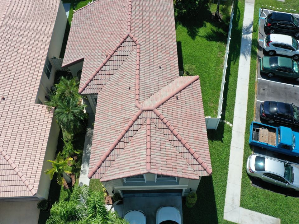 Miramar, FL - Eagle Malibu tile roof replacement estimate in Miramar Florida by Mike Wild and Earl Johnston roofing