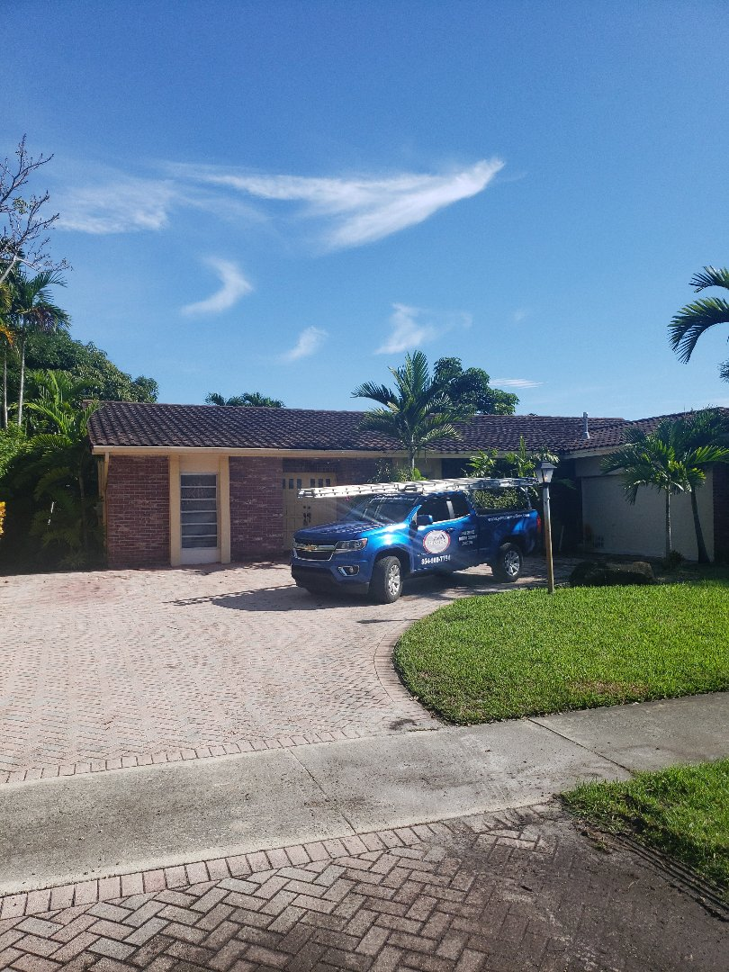 Miami, FL - Eagle tiles roof replacement estimate by AJ from Earl Johnston Roofing Company