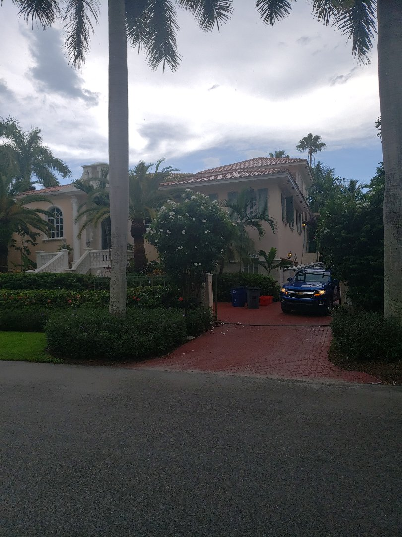 Coral Gables, FL - Tile roof replacement estimate by AJ from Earl Johnston Roofing Company