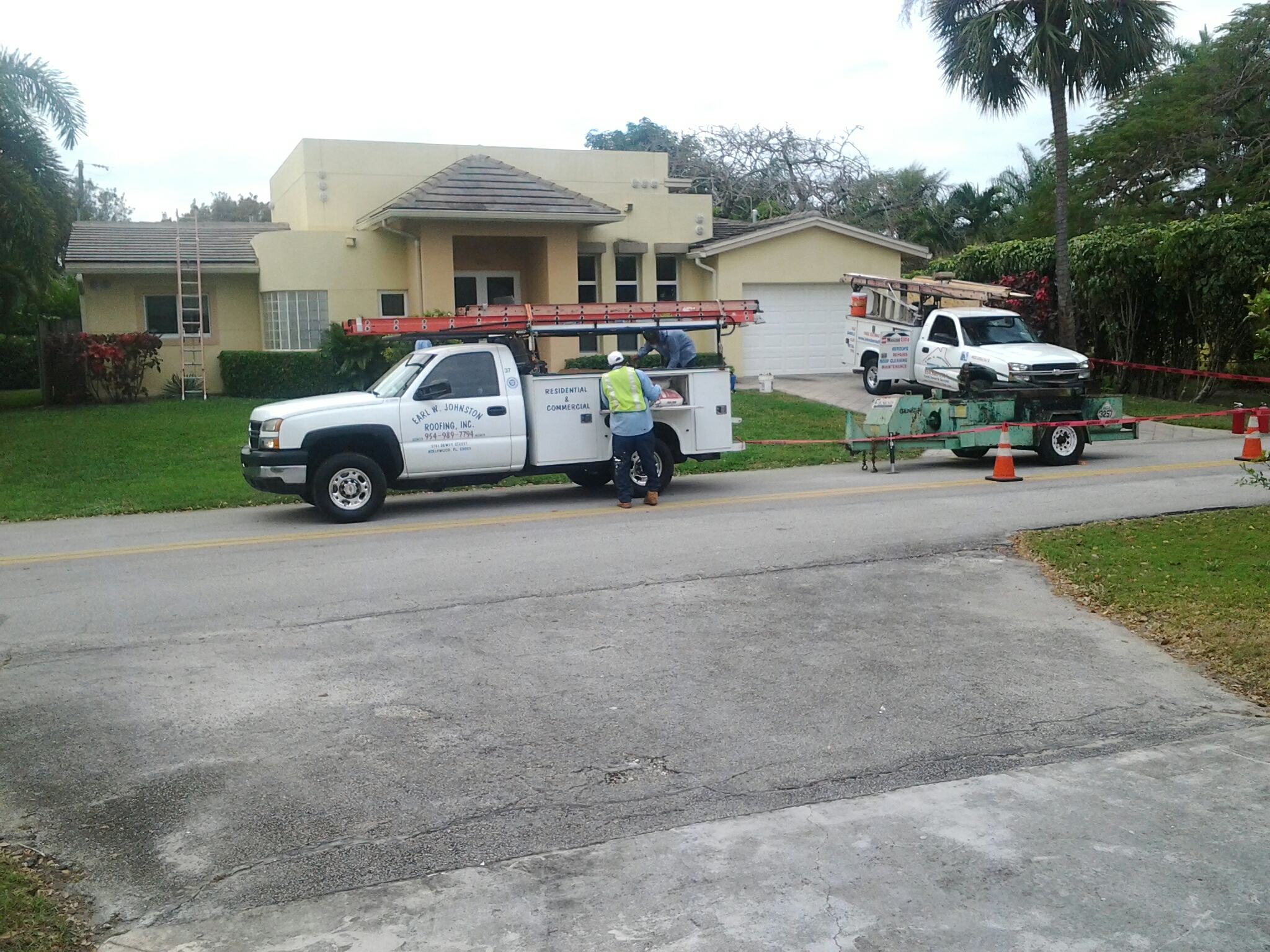 Boynton Beach, FL -  roof repair