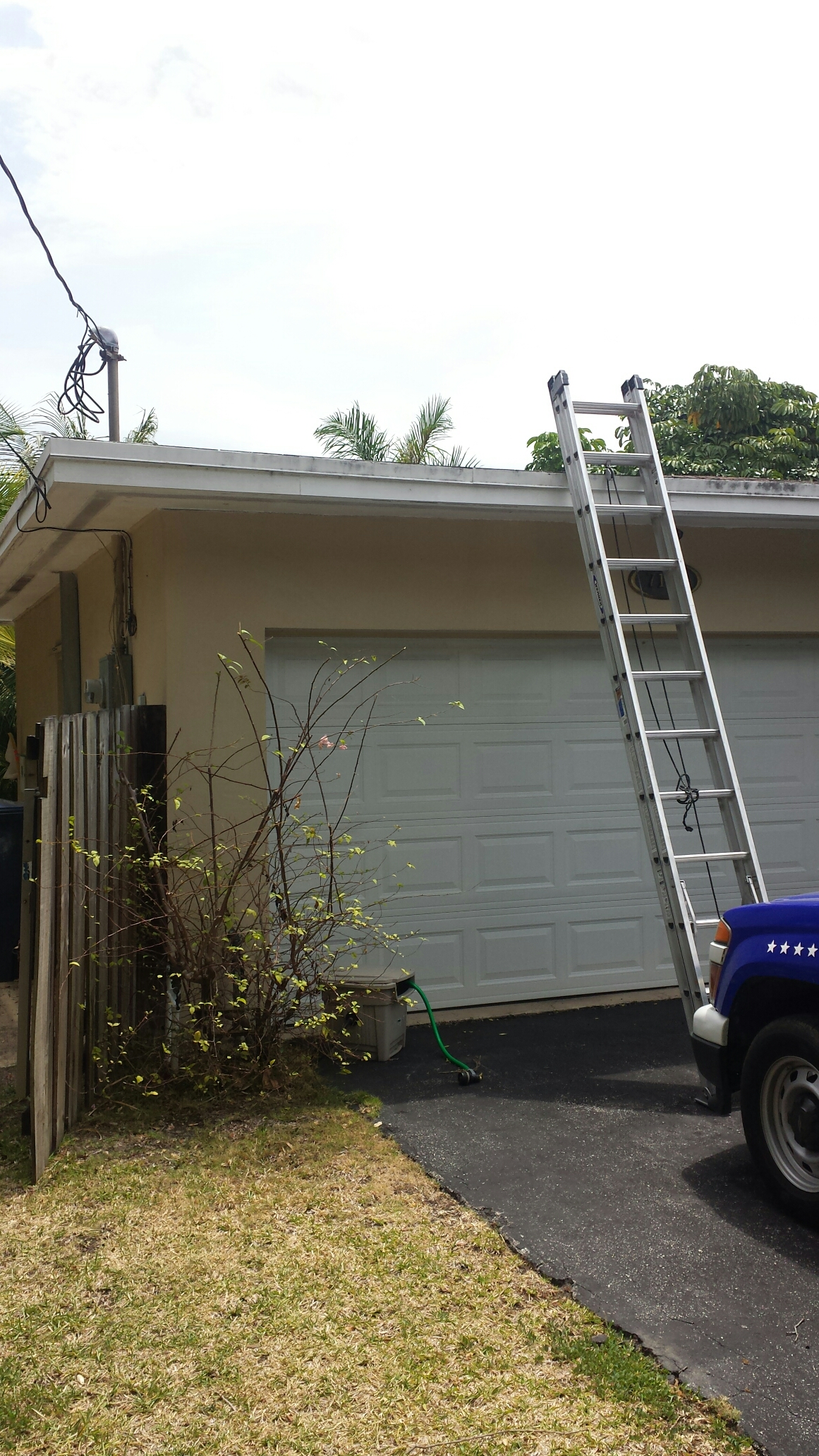 South Miami, FL - Flat reroof estimate at Miami