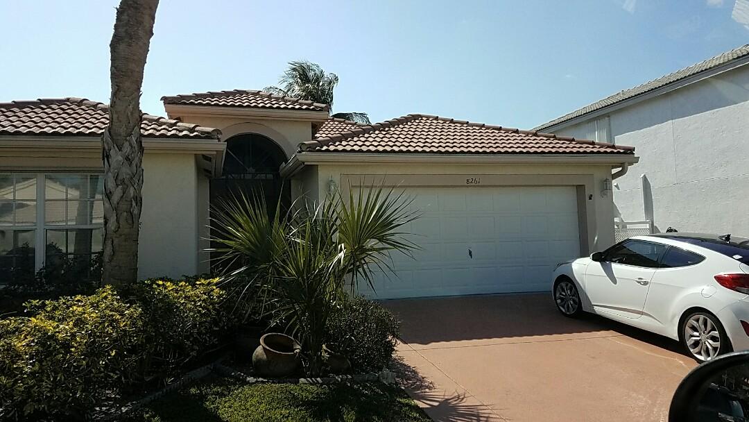 Boynton Beach, FL - Tile reroof estimate