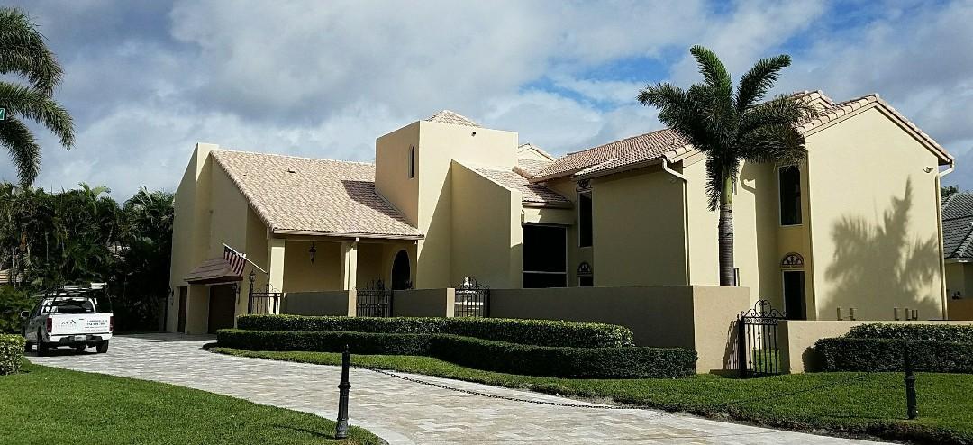Boca Raton, FL - Entegra Estate tile reroof estimate in Boca Raton, FL