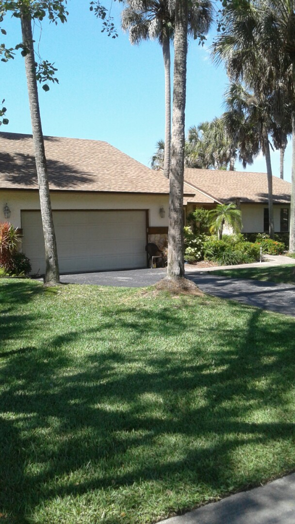 Coral Springs, FL - Finished gaf timberline shingle roof and flat roof by earl w Johnston roofing llc