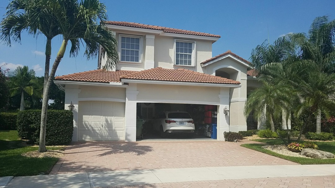 Weston, FL - Tile reroof estimate in Weston, FL