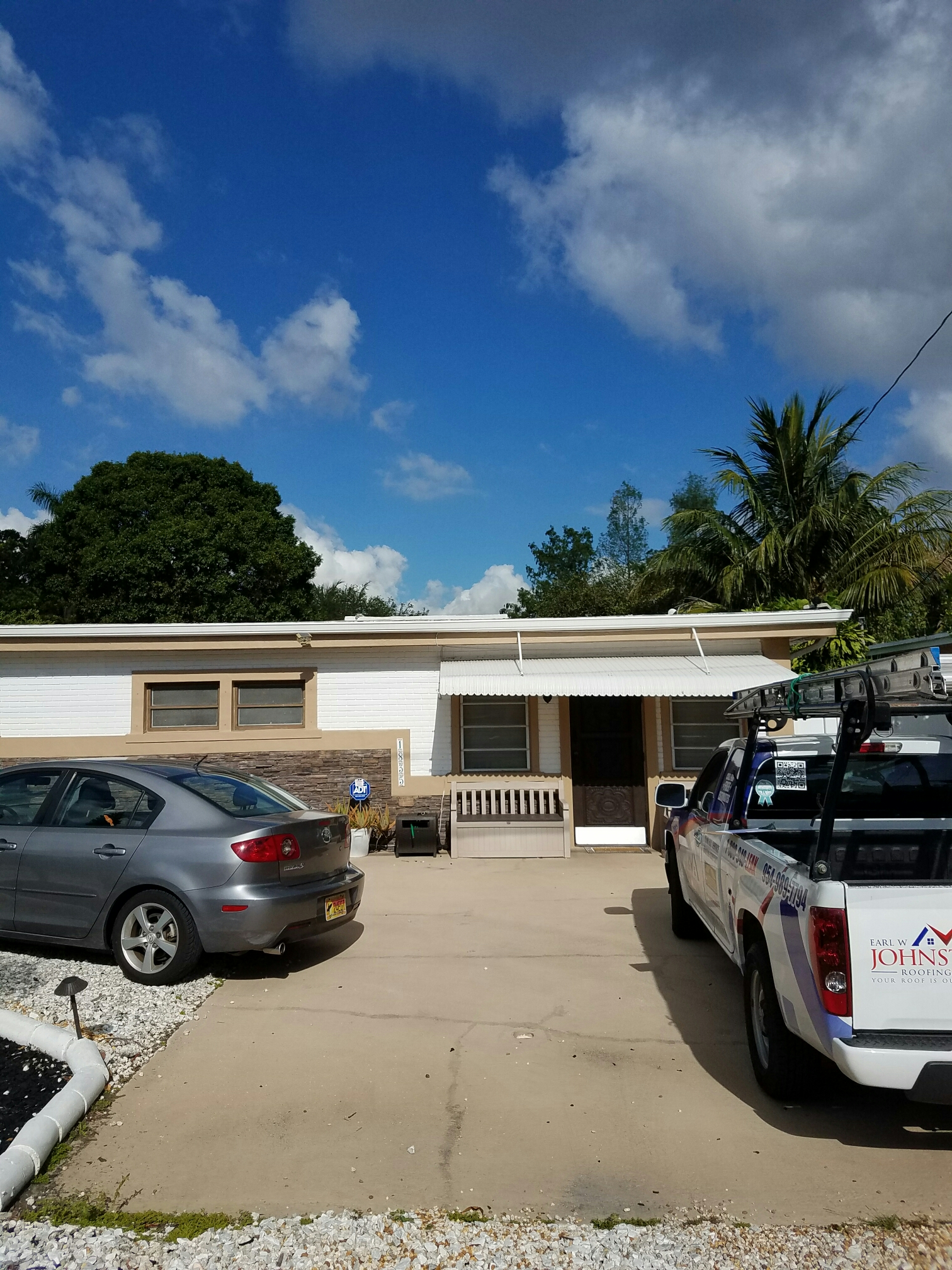 Fort Lauderdale, FL - Flat re-roof  roof estimate in Fort Lauderdale