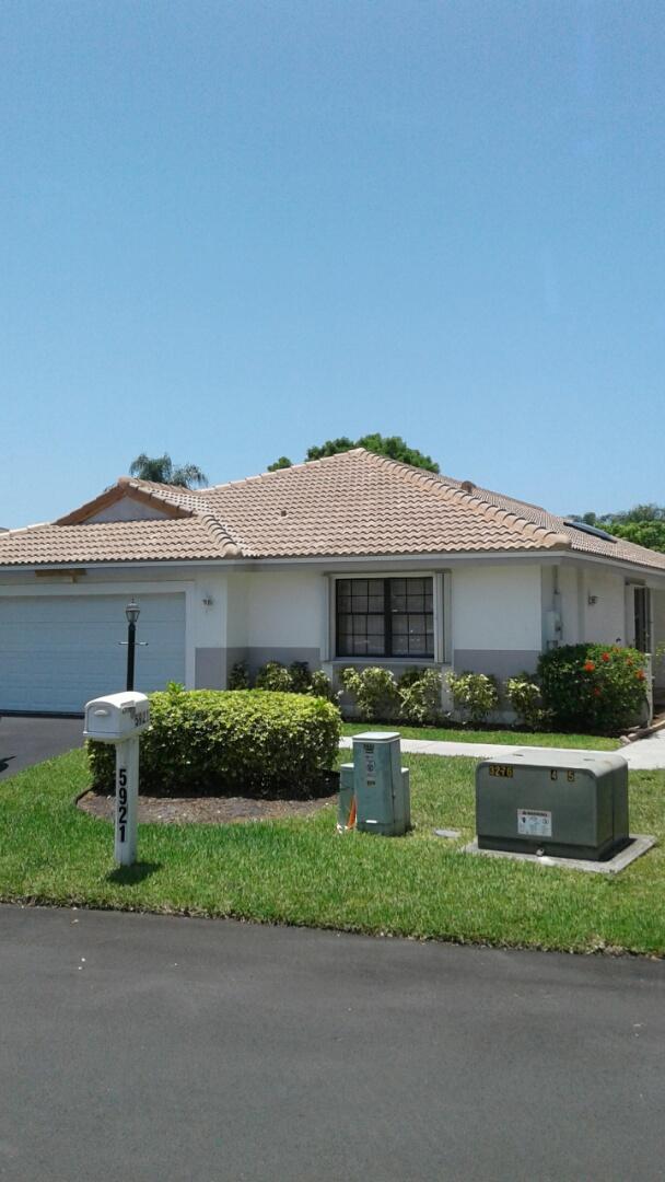 Finished entegra estate s tile roof by earl w Johnston roofing llc