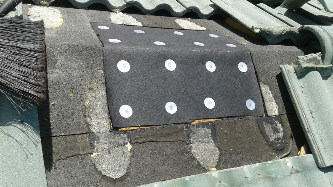 Roof repair in Davie