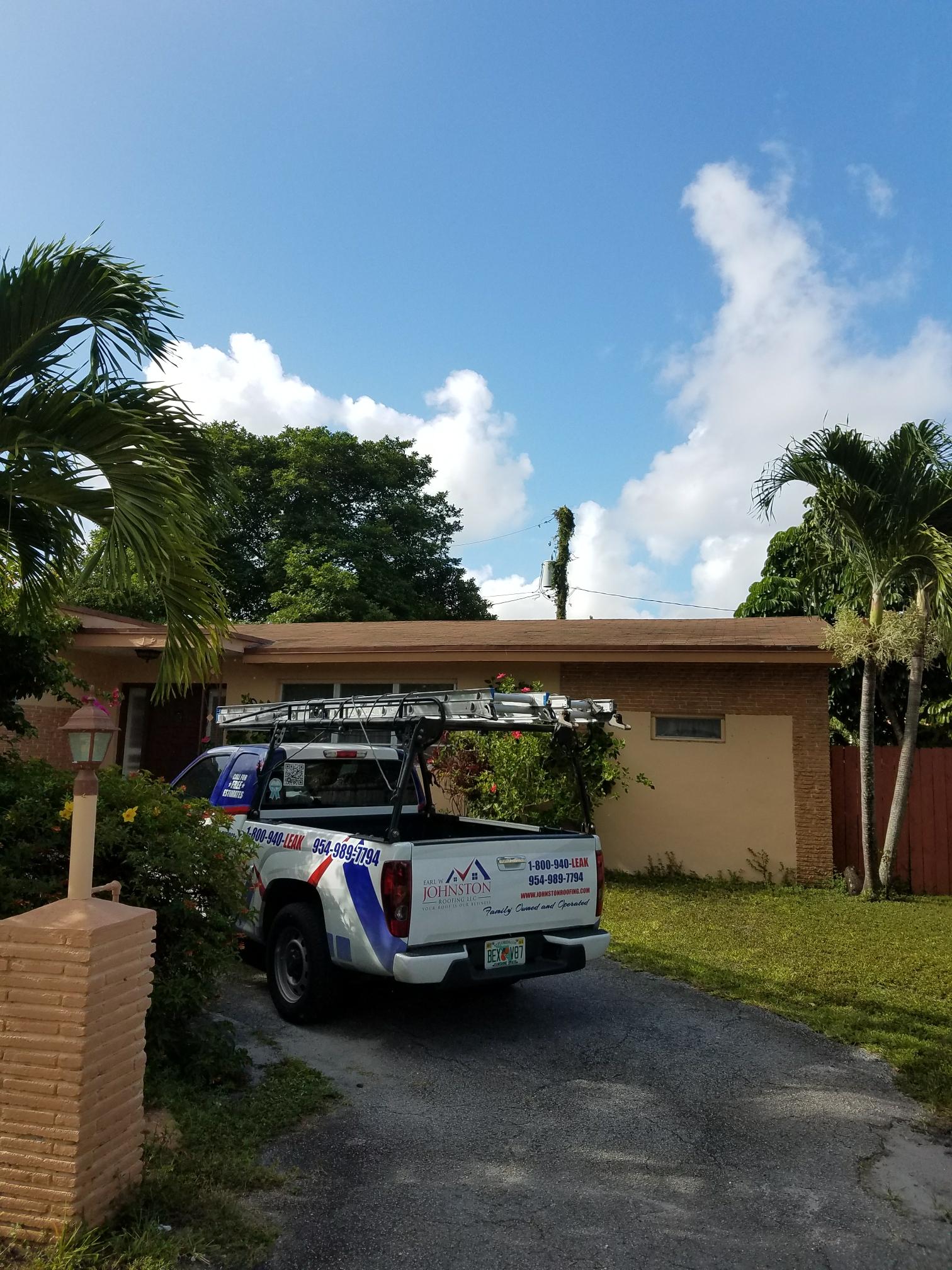 Miami, FL - Shingle reroof estimate in Miami