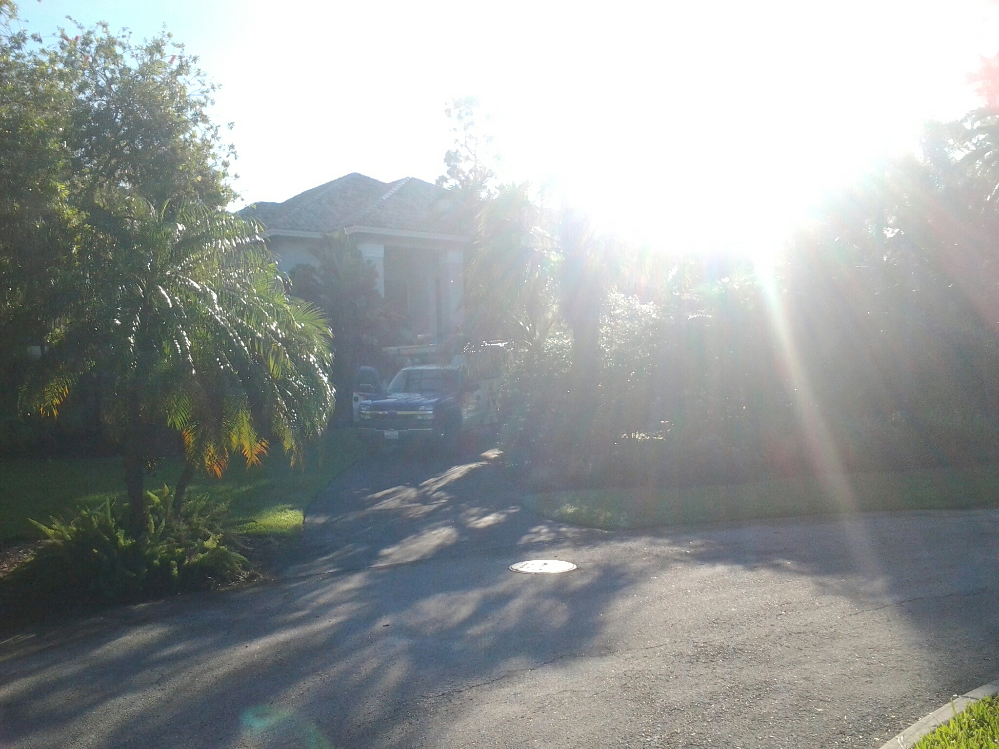 Coral Springs, FL - Tile roof repair in the city of coral spring fl this repair is being done by Earl w Johnston roofing company Jos? end Blake are you repair technicians