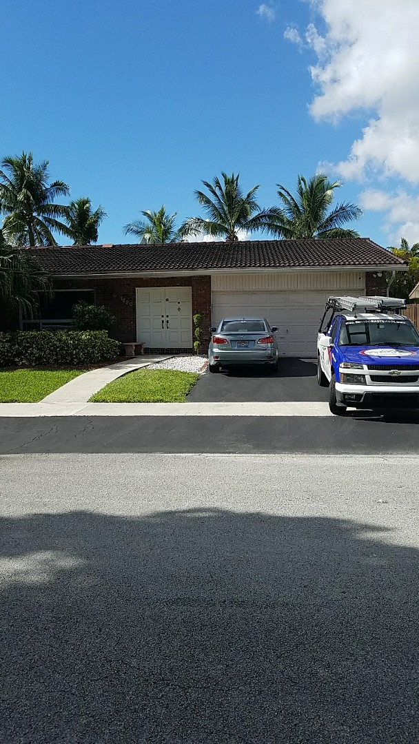 Miami, FL - Tile roof repair estimate done by AJ from Earl Johnston Roofing