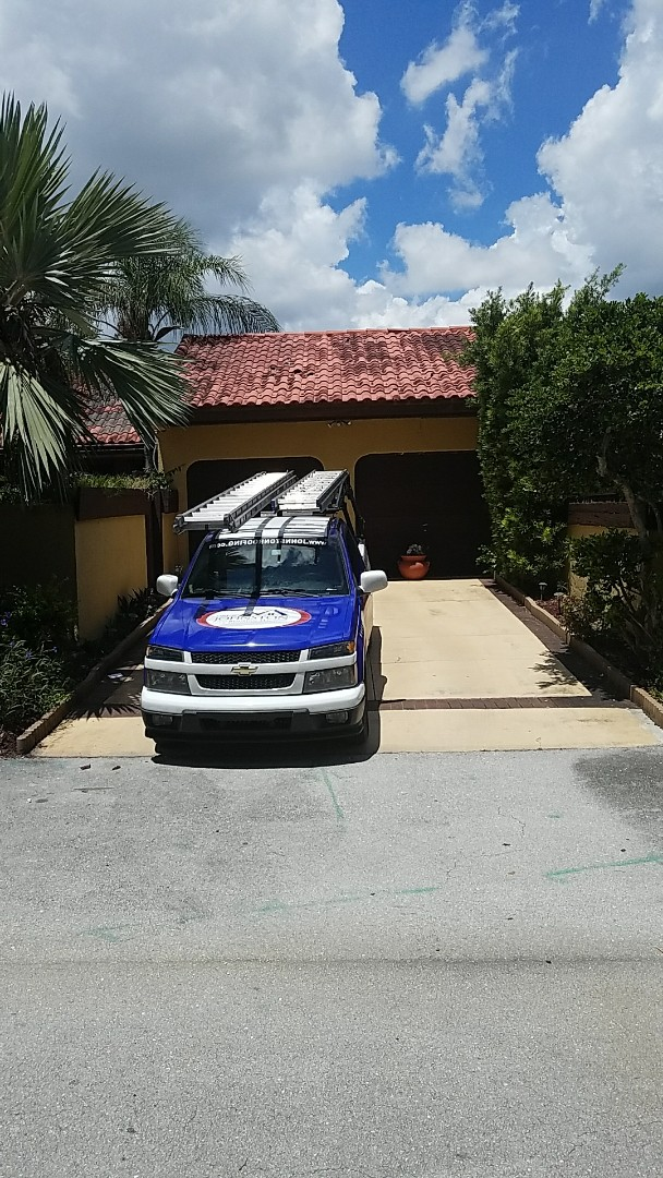 Miami, FL - Entegra tile reroof estimate done by AJ from Earl Johnston Roofing