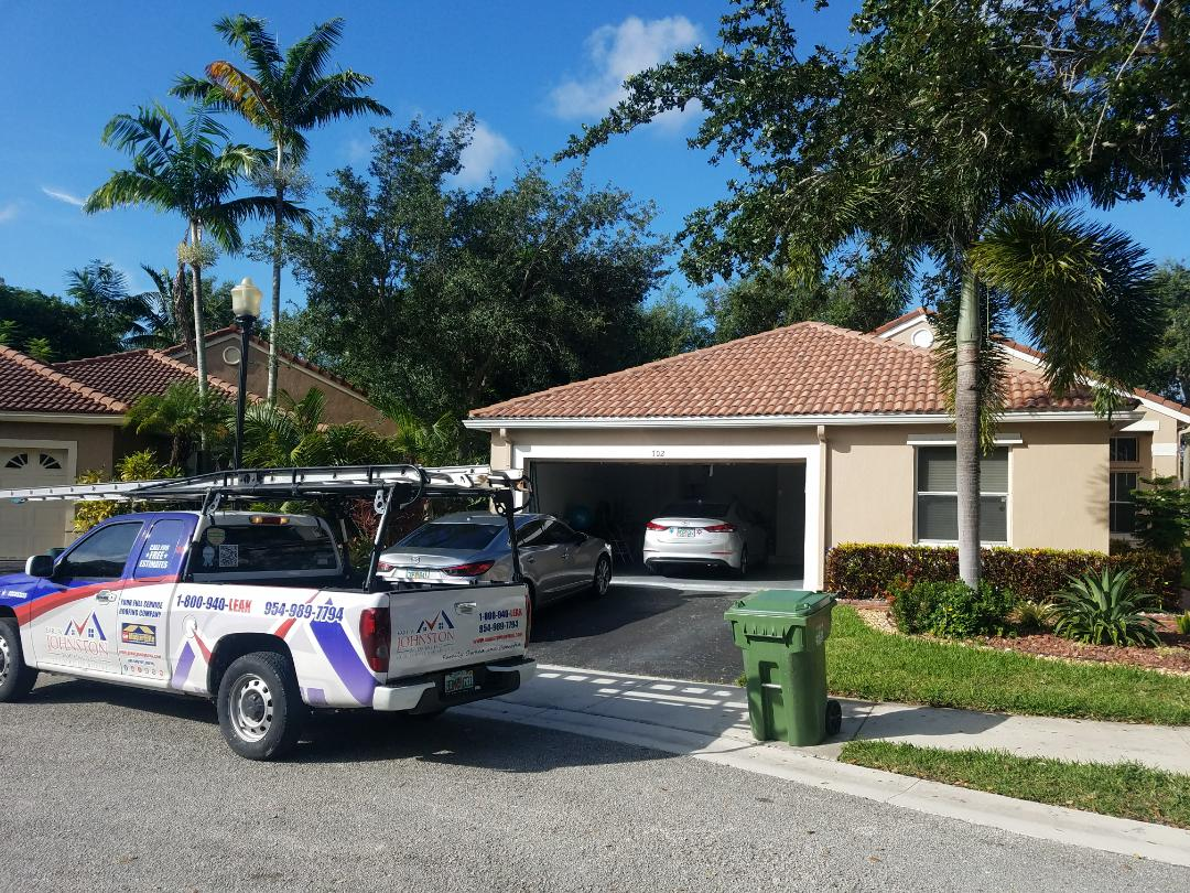 Tile reroof estimate in Weston, FL