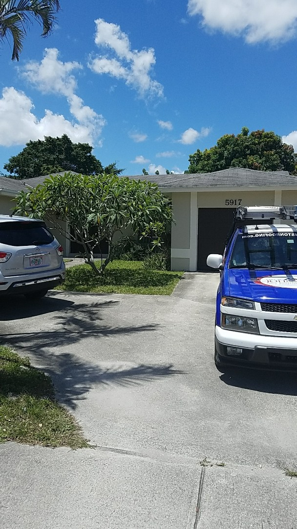 Opa-locka, FL - GAF timberline HD shingle reroof estimate done by AJ and Rob from Earl Johnston Roofing
