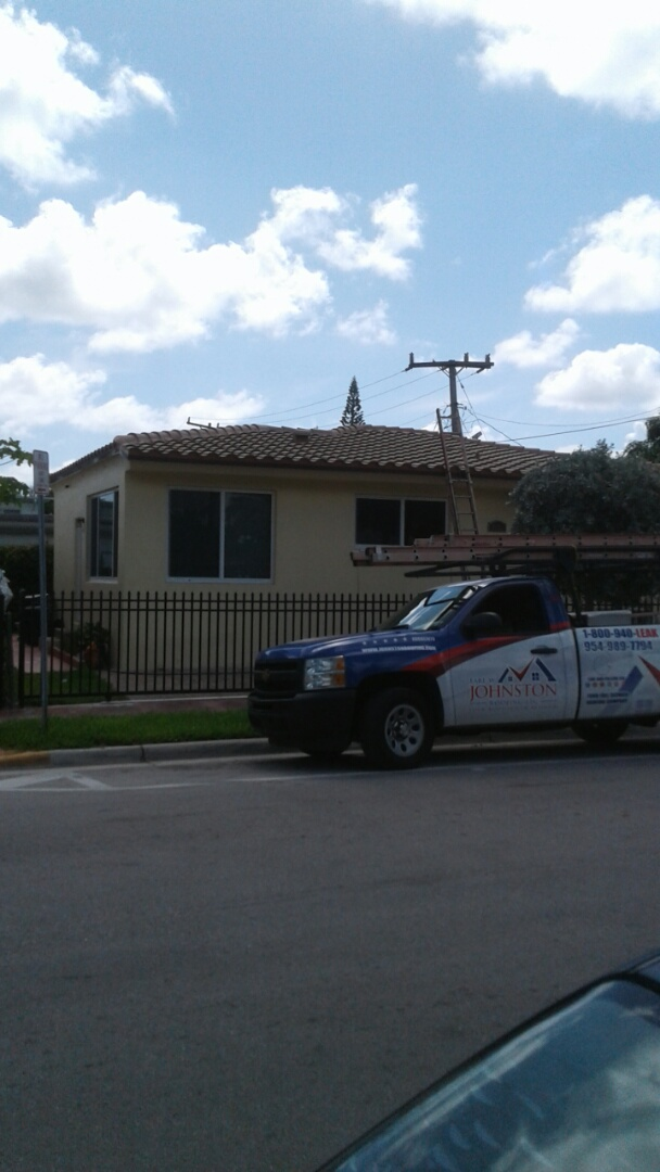 Miami Beach, FL - Finished entegra bella high s roof tile by earl w Johnston roofing llc