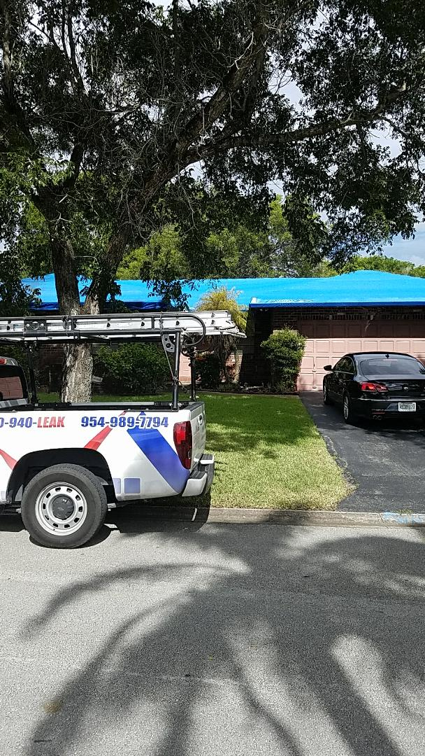 Coral Springs, FL - Entegra Estate reroof estimate done by AJ from Earl Johnston Roofing