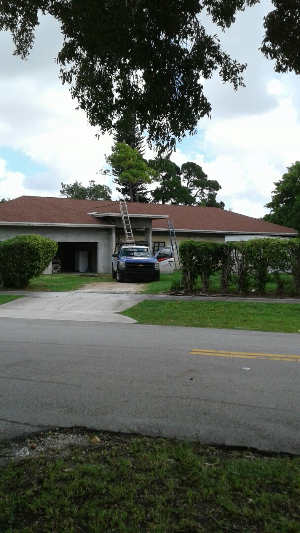 Fort Lauderdale, FL - Finished gaf timberline shingle roof by earl w Johnston roofing llc