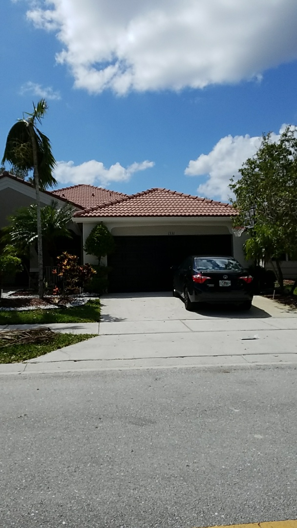 Weston, FL - Tile roof repair estimate done by AJ from Earl Johnston Roofing