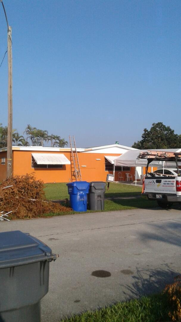 Hollywood, FL - Shingle in progress ready for inspection