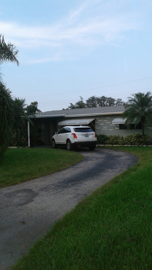 Fort Lauderdale, FL - Finished gaf timberline shingle and flat roof by earl w Johnston roofing llc