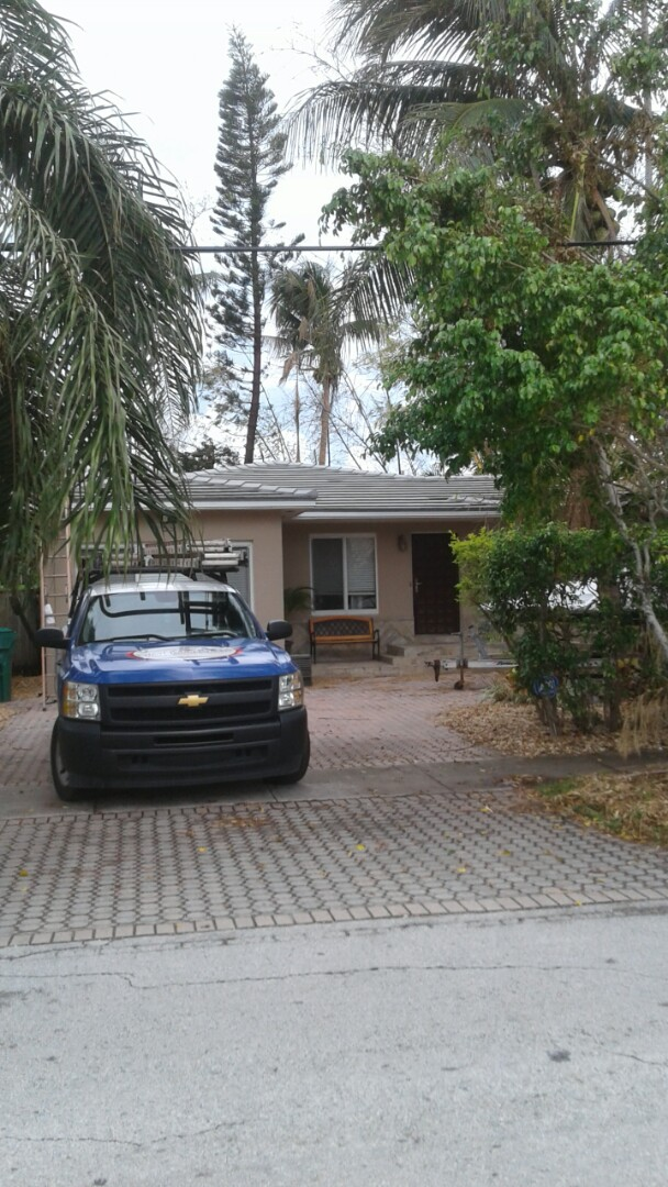 Miami, FL - Finished entegra plantation flat roof tile by earl w Johnston roofing llc