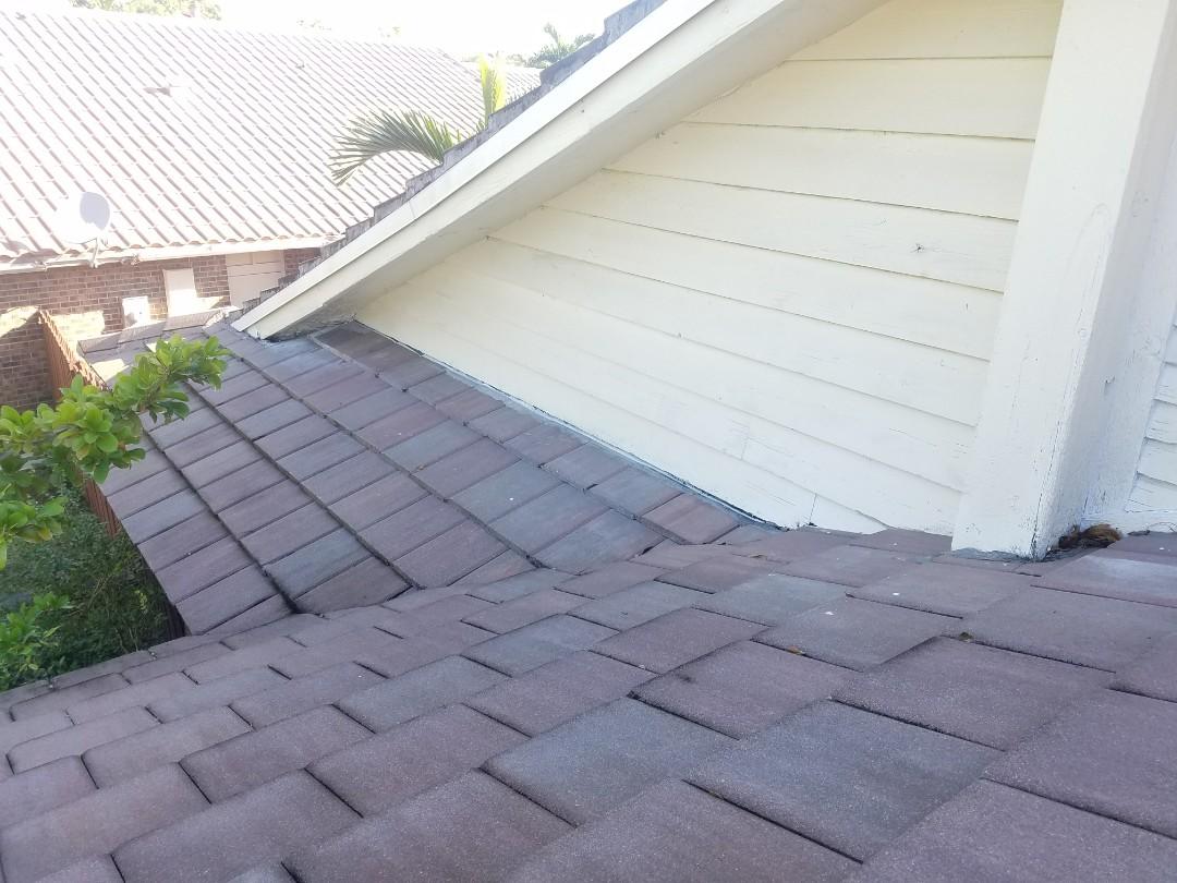 Tile roof repair estimate in Copper City, FL