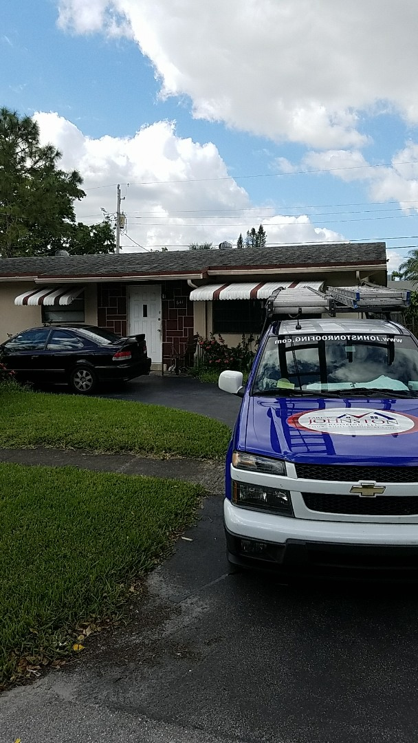 Shingle roof replacement estimate by AJ from Earl  Johnston Roofing