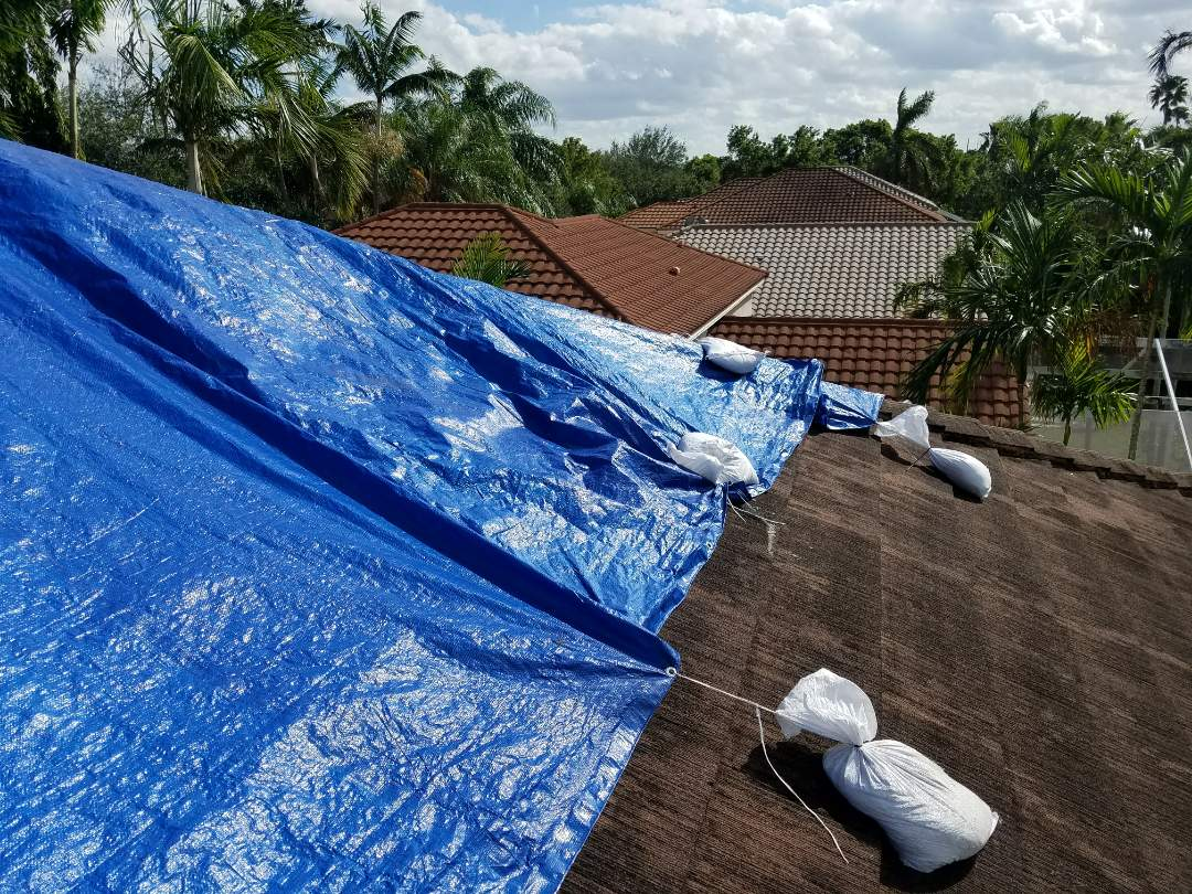 Tile roof replacement estimate in Copper City, FL