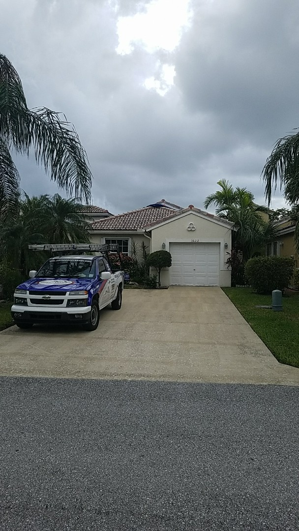 Coconut Creek, FL - Tile roof replacement estimate by AJ from Earl Johnston Roofing
