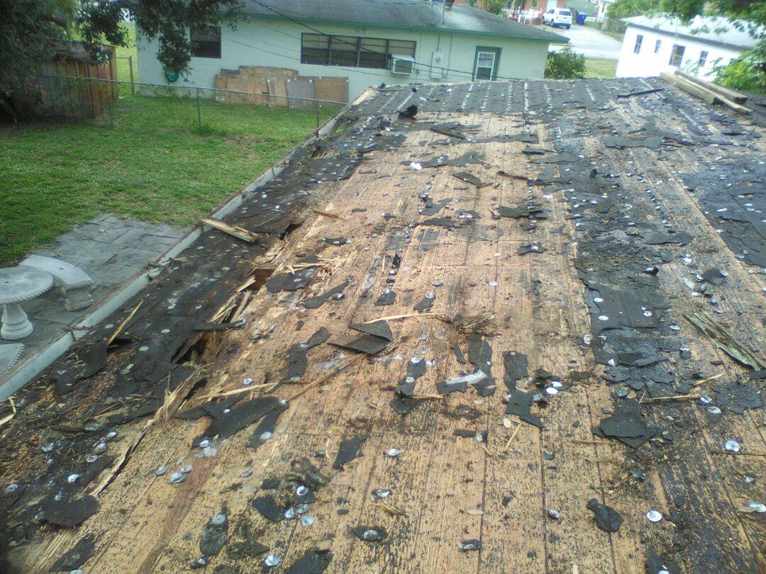 West Park, FL - Reroof 22.89sqs shingle to cap, low slope