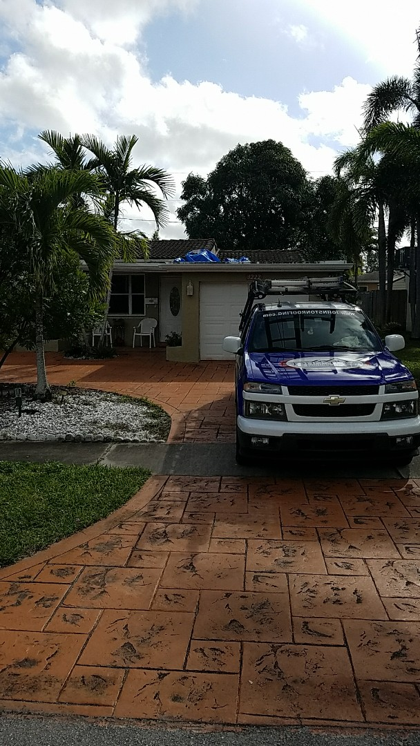 Hollywood, FL - Tile roof replacement  proposal by Earl Johnston Roofing