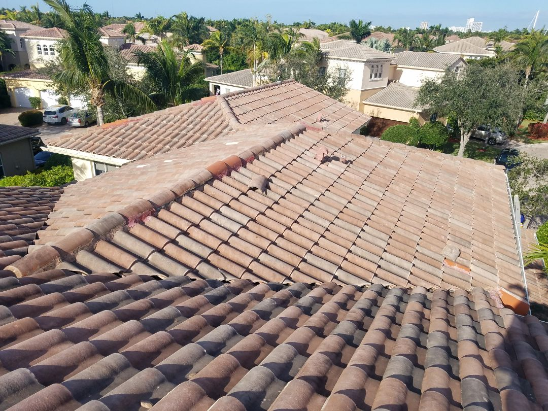 Hollywood, FL - Tile roof replacement estimate in Hollywood, FL