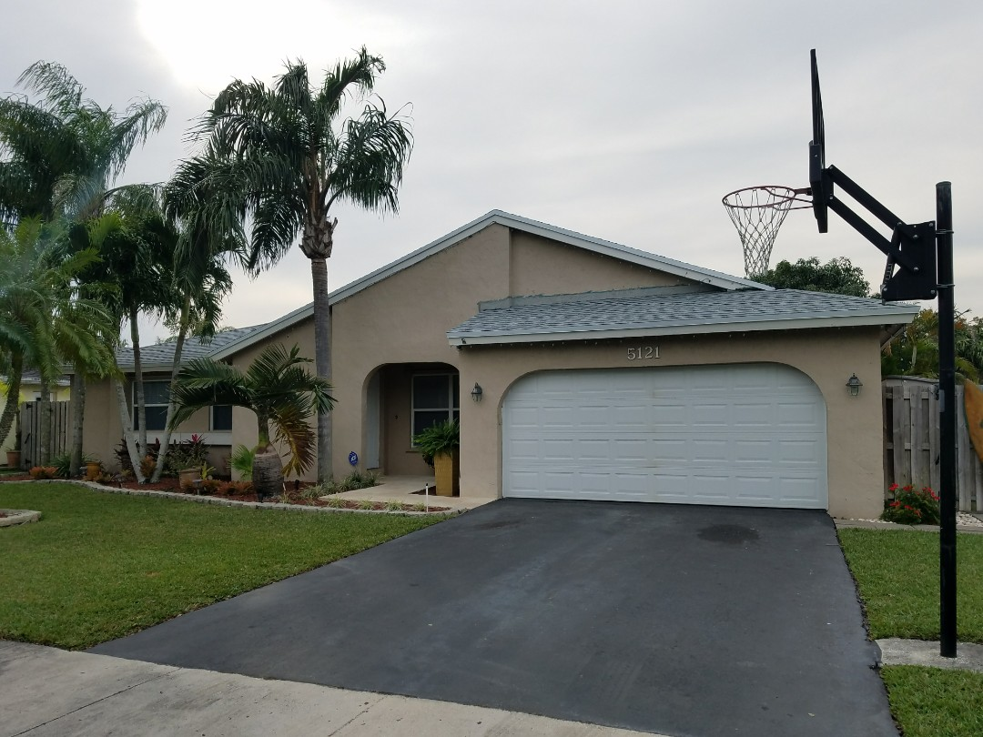 Cooper City, FL - Finished GAF TIMBERLINE HD SHINGLE ROOF REPLACEMENT IN COOPER CITY, FL