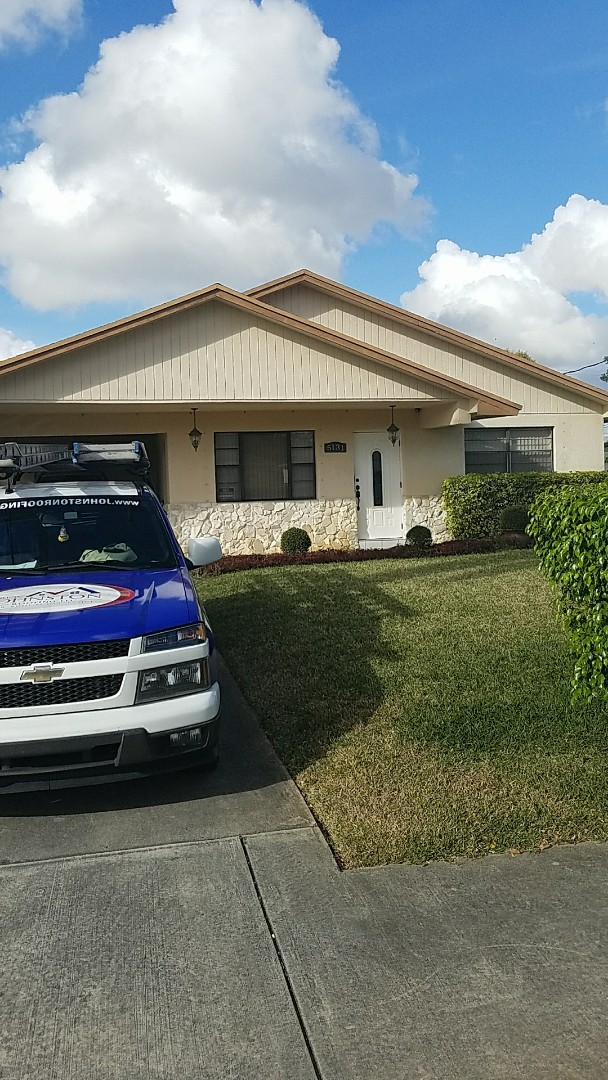 West Park, FL - Shingle repair estimate by Earl Johnston Roofing