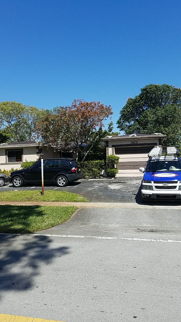 Lauderdale Lakes, FL - GAF timberline HD shingle reroof estimate done by  Earl Johnston Roofing