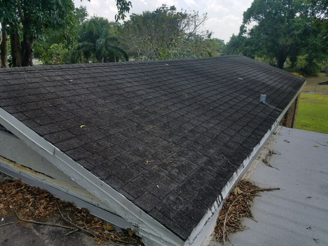 GAF TIMBERLINE HD SHINGLE ROOF REPLACEMENT ESTIMATE COOPER CITY, FL