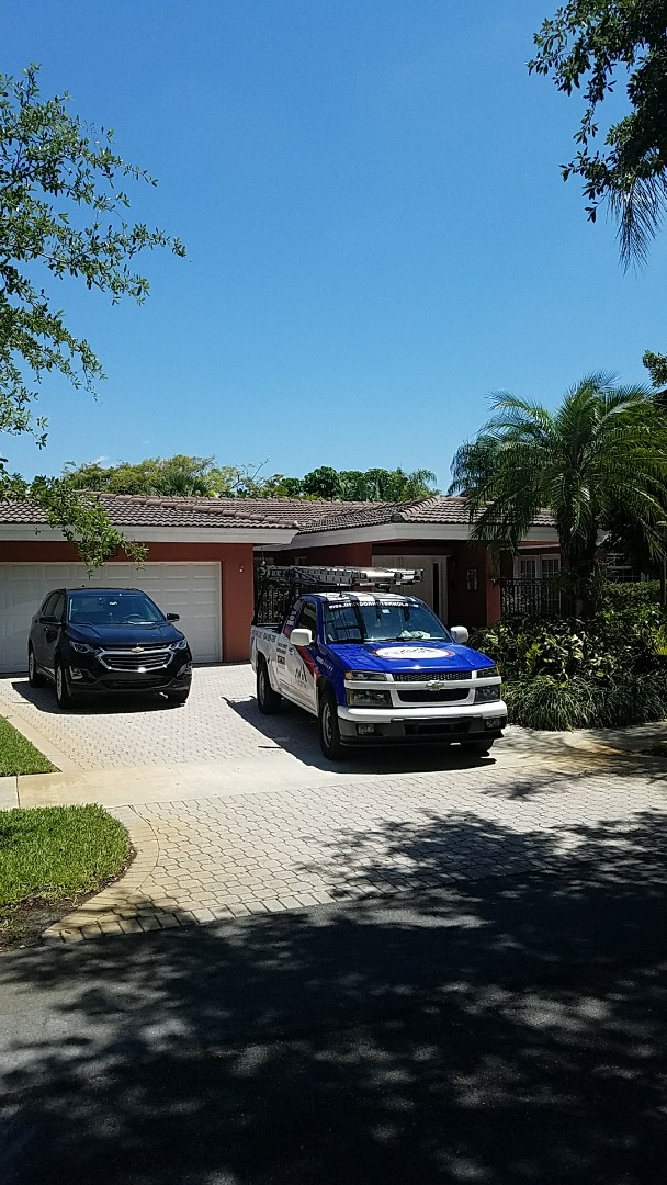 Miami Lakes, FL - Eagle Malibu tiles reroof proposal by AJ from Earl Johnston Roofing. Your Full Service Roofing Company