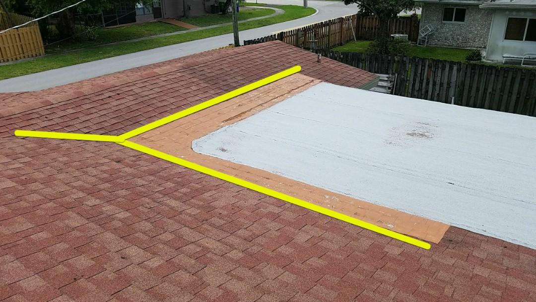 Sunrise, FL - Shingle and flat roof repair estimate in Sunrise, FL