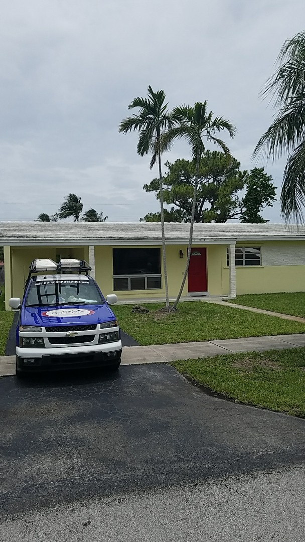 Hollywood, FL - Eagle Bel Air tiles reroof proposal by Earl Johnston Roofing Your Full Service Roofing Company