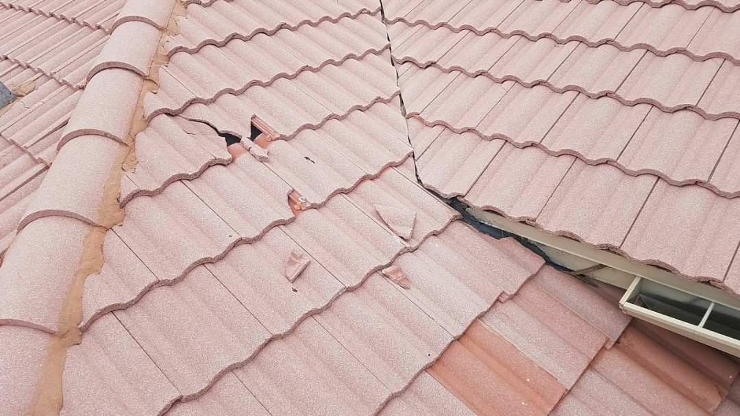 Tile roof repair estimate in Plantation, FL