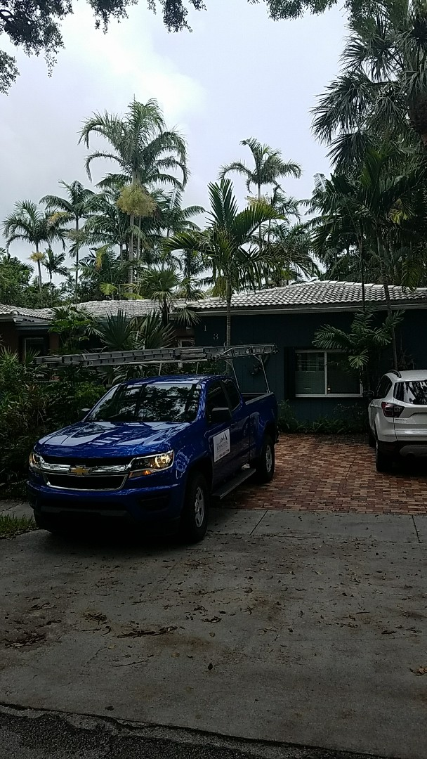 Miami Shores, FL - Tile roof repair estimate done by AJ from Earl Johnston Roofing Your Full Service Roofing Company