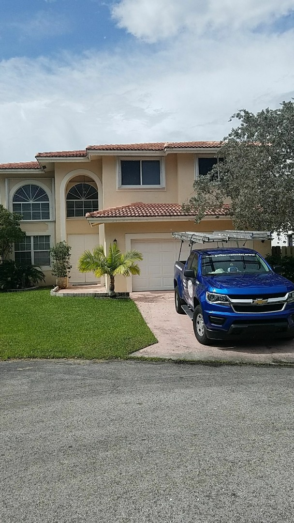Coral Springs, FL - Tile roof repair estimate done by AJ from Earl Johnston Roofing Your Full Service Roofing Company