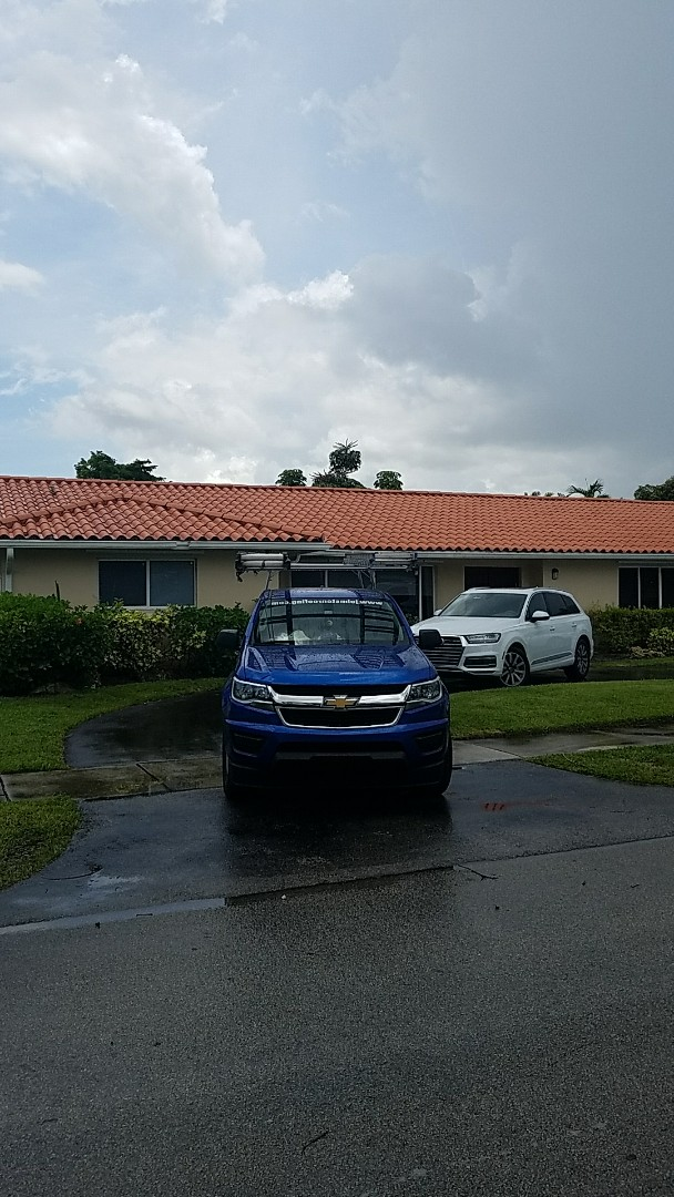 North Miami Beach, FL - Tile roof repair estimate done by AJ from Earl Johnston Roofing Your Full Service Roofing Company