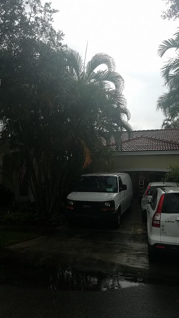 Hialeah, FL - Tile roof leak repair estimate by Earl Johnston Roofing Company